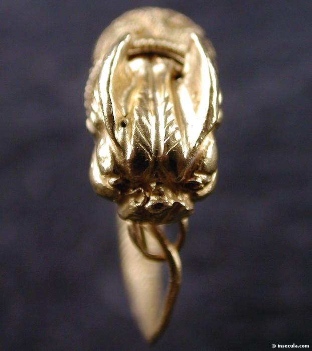 Boucle d`oreille greque en or -  IIIe siècle - Musée du Louvre